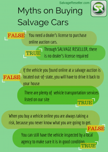 Myths and Facts Salvage Cars